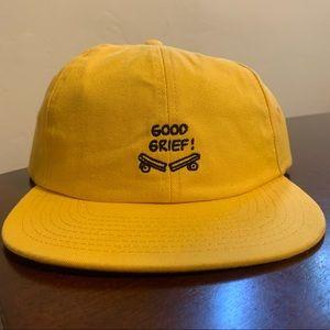 NWT Vans x Peanuts Good Grief Strapback Dad Hat